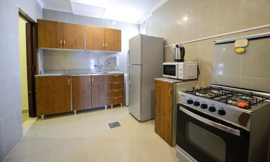 Kitchenette  Picture of Relax inn Hotel Apartments
