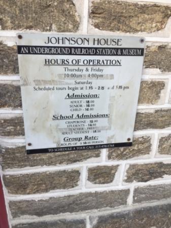Johnson House Historical Site