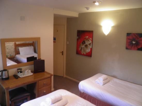 The Talbot Inn: Economy Twin En Suite Refurbished Oct 15