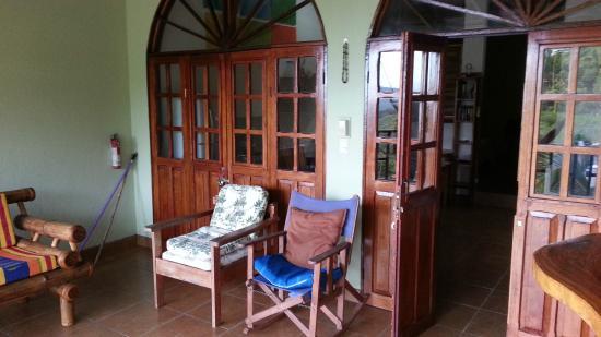 Hotel Villas El Parque: Balcony
