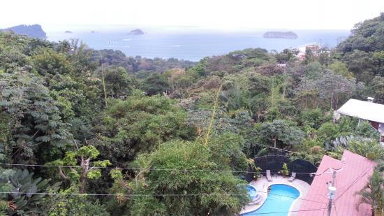 Hotel Villas El Parque: View from balcony