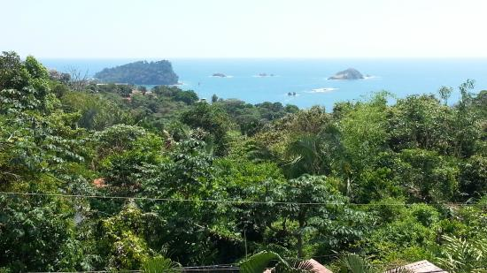 Hotel Villas El Parque: Ocean view