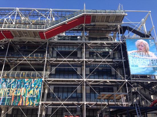 París, Francia: Centrum Pompidou
