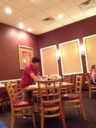 Noodles Delight: Dining area