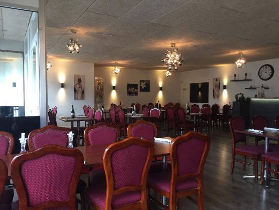 Billund Pizza Steakhouse: В обед зал был пуст...