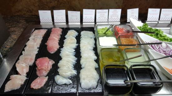 Fresh Sashimi For Breakfast Why Not Toscana Restaurant