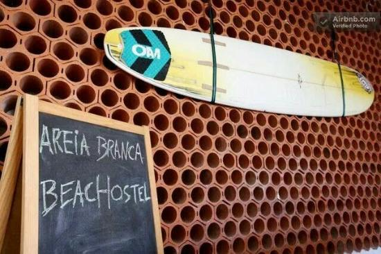 Areia Branca Beach Hostel : -