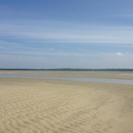 Yarmouth Port, MA: Chapin Beach low tide
