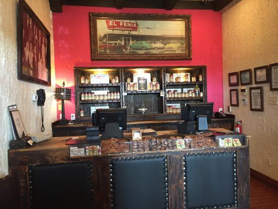 El Fenix Famous Mexican Restaurant: Check in at el fenix