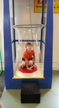 Saint Joseph, MI: Inside a bubble!