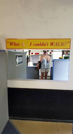 Saint Joseph, MI: What if I couldn't walk-experience life in a wheelchair!