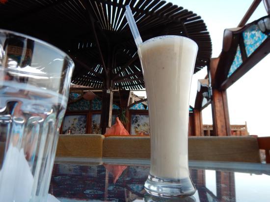 Aladdin Resturant: banana juice