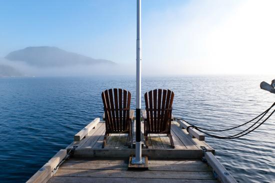 Garden Bay, แคนาดา: Marina View
