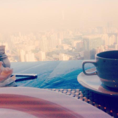 Jingguang Center Apartment Hotel: Breakfast view