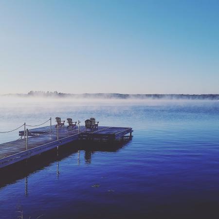 North Kawartha, Canada: Breathtaking morning views