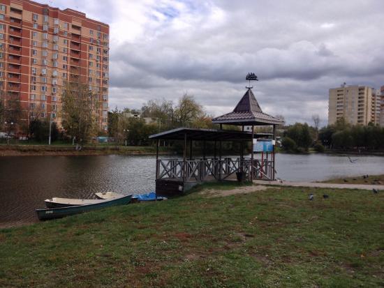 Наташинские пруды и наташинский парк в люберцах. Фото.