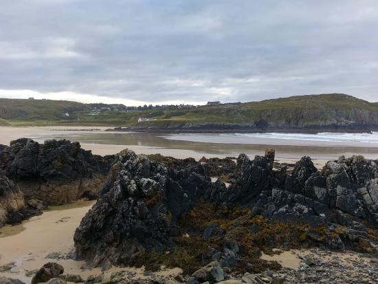 Farr Beach, one of two glorious beaches below Bettyhill Hotel