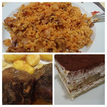 Hotel Rey Don Sancho: el arroz a la zamorana y la carrillera iberica de muerte