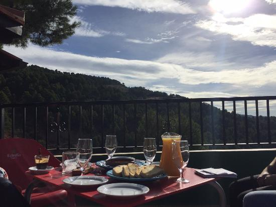 Residencial Turístico VegaSierra: Desayuno con vistas