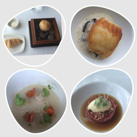 Water Library Chamchuri: Warm and best croissant, cod fish