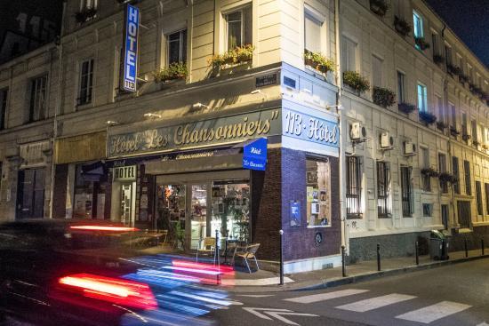Hotel Les Chansonniers: Sfeervol.