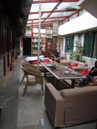 WADA Hostel: common room