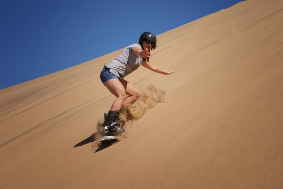 Alter Action Sandboarding