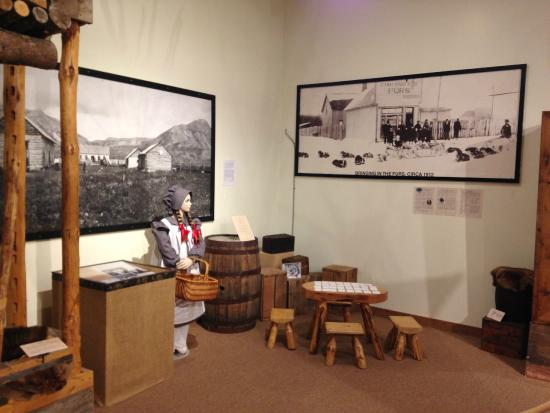 Fort St. John North Peace Museum : Try our memory game in the fur trade exhibit
