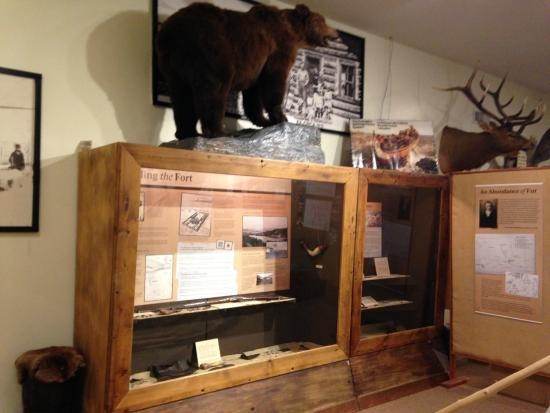 Fort St. John North Peace Museum : See fur trade artefacts from archaeological digs