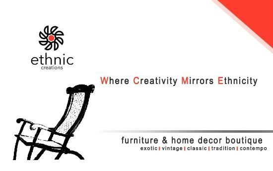 Furniture Home Decor Picture Of Ethnic Creations