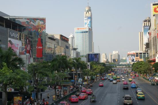 Indra Regent Hotel Bangkok Rararop Road Au Coeur De Pratunam