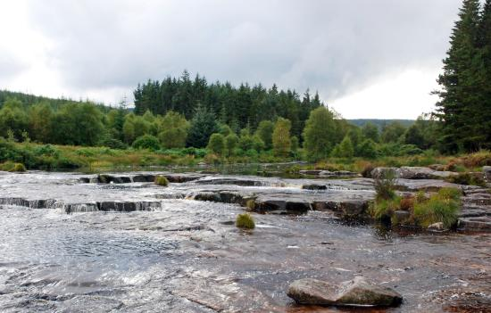 Galloway Forest Park, UK: The Otters Pool, on The Raider's Road