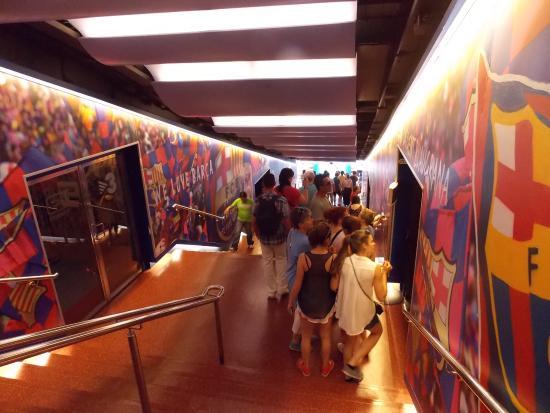 il museo - Foto van Museu del Futbol Club Barcelona ...