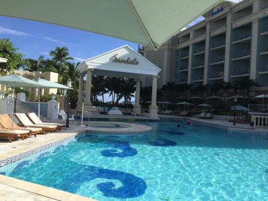 Swim Up Bar Picture Of Sandals Royal Bahamian Spa Resort