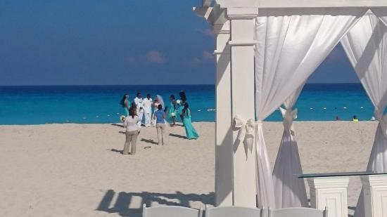 Casamento Na Praia Em Um Hotel Proximo Picture Of Grand Park Royal Luxury Resort Cancun Tripadvisor