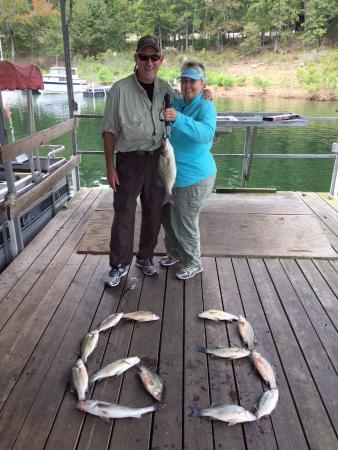Greers Ferry, อาร์คันซอ: Nice catch