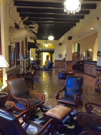 El Capitan Restaurant Hotel Lobby Van Horn Tx
