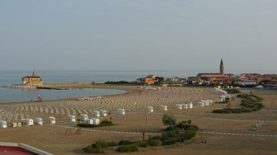 Park hotel Pineta Caorle : Vista panoramica dalla terrazza dell'hotel