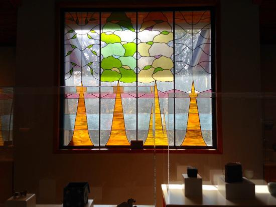 Southern Highland Craft Guild Folk Art Center: Stained Glass