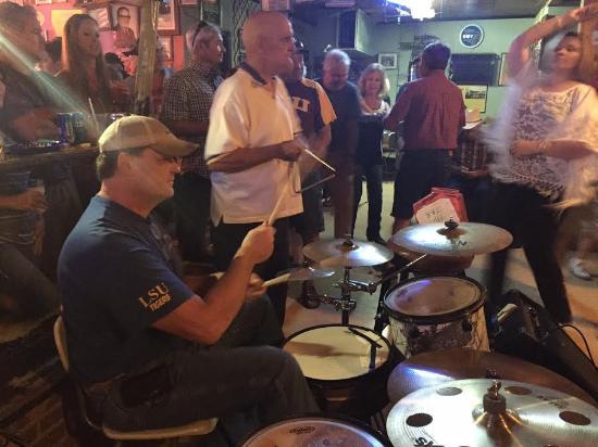 Mamou, LA: Cajun musicians