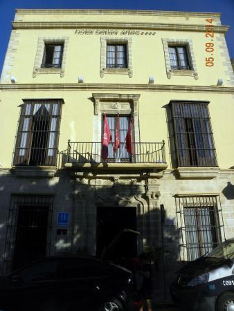 Bellas Artes Hotel: fachada del hotel