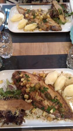 Restaurant cesar et rosalie dans les sables d 39 olonne avec for Cuisine cesar prix