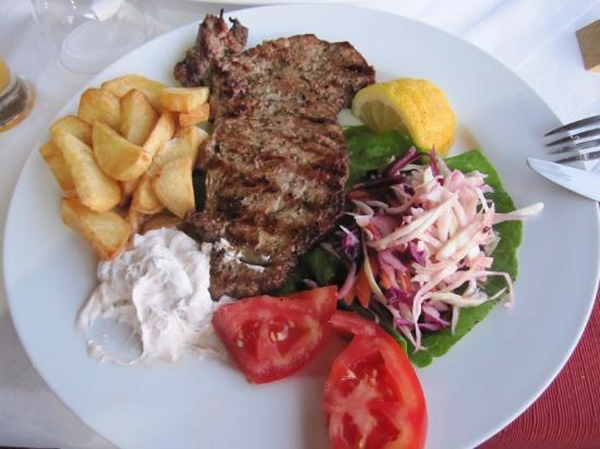 Belvedere Resturant: Grillet kjøtt