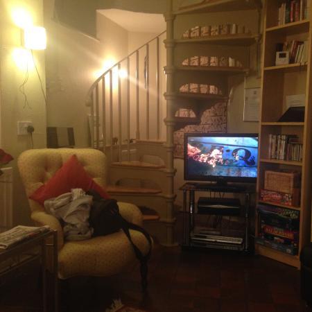Tom's Barn and Douglas's Barn: Living room