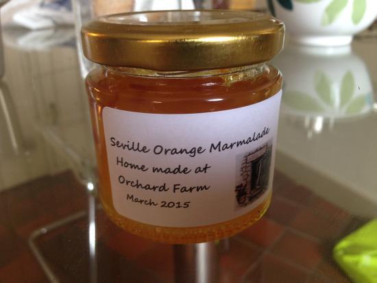 Tom's Barn and Douglas's Barn: Homemade marmalade