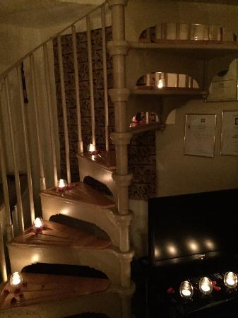 Tom's Barn and Douglas's Barn: Staircase