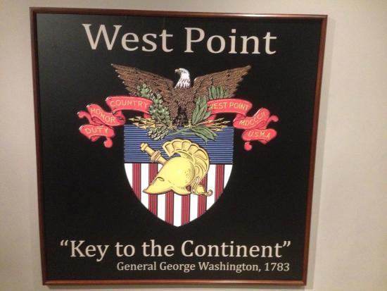 Highland Falls, Νέα Υόρκη: Flag at West Point