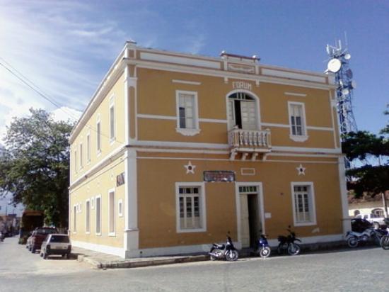 Januaria: Vista parcial da Casa da Memória.