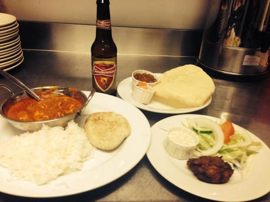Oddfellows: All for 7.50! Tuesday curry night. Amazing