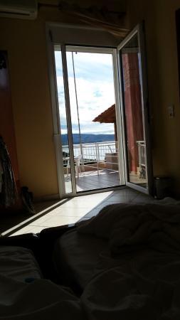 Grand Beach Hotel : Vom Bett. Morgens Sonnenaufgang :)